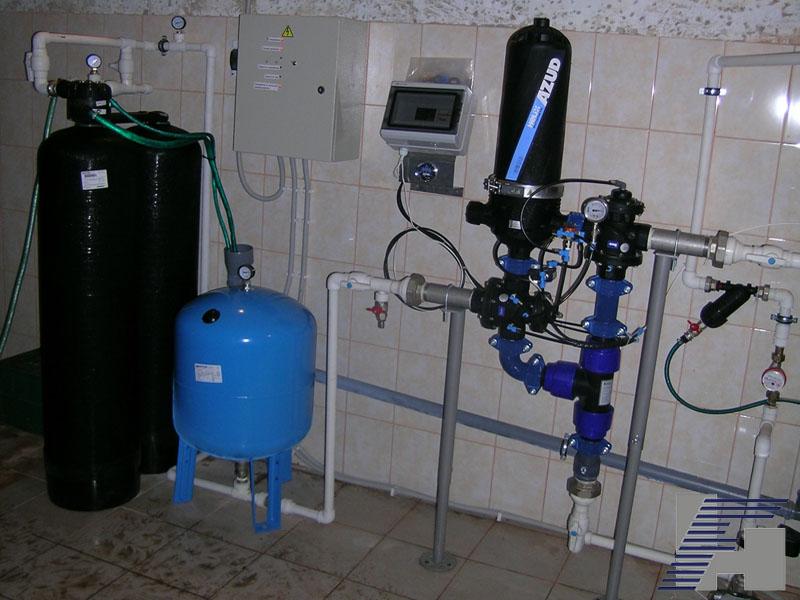 Дисковый фильтр с автоматической промывкой Azud 201