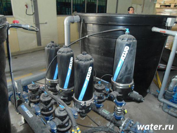 Дисковый фильтр с автоматической промывкой Azud 203