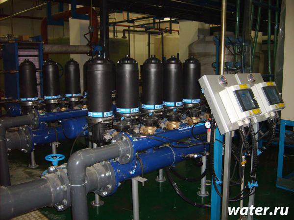 Дисковый фильтр с автоматической промывкой Azud 205