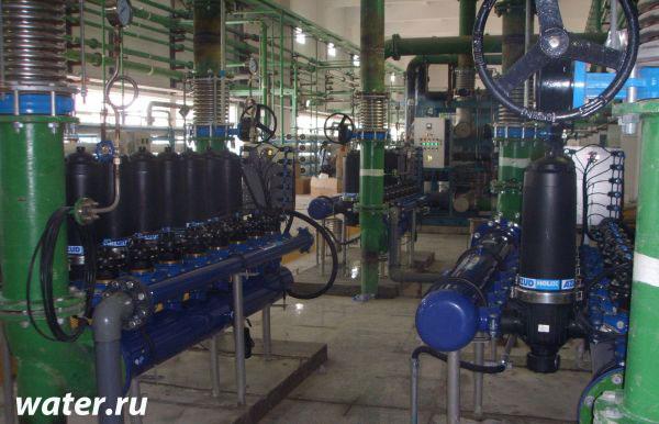 Дисковый фильтр с автоматической промывкой Azud 206