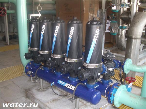 Дисковый фильтр с автоматической промывкой Azud 305