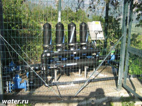 Дисковый фильтр с автоматической промывкой Azud 302