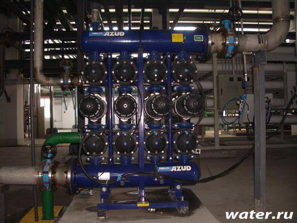 Дисковый фильтр с автоматической промывкой Azud 4 DCL