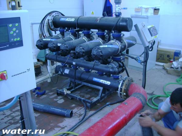 Дисковый фильтр с автоматической промывкой Azud 5 DCL