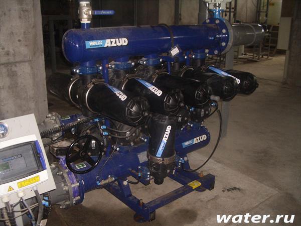 Дисковый фильтр с автоматической промывкой Azud 6 DCL