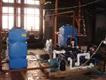Пилотные испытания системы механической очистки воды, р. Ангара