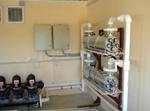 Станция предварительной механической фильтрации перед системой биологической очистки сточных вод