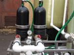 Предварительная очистка воды перед станцией осветления и сорбции