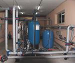 Станция механической фильтрации воды, тренировочная база Динамо