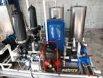 Установка очистки жидких радиоактивных отходов от органических и механичесих примесей