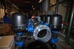Система механической фильтрации воды, ТЭЦ 22