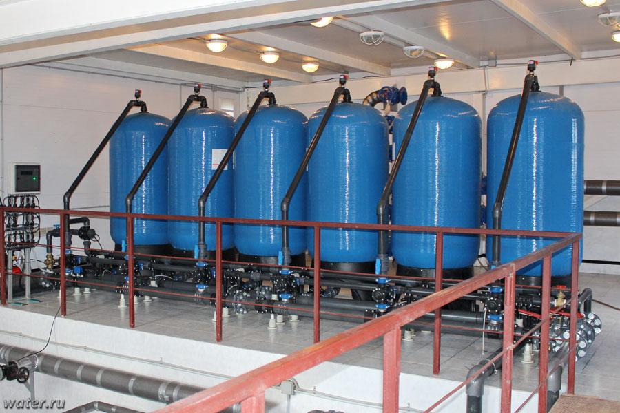 Станция  обезжелезивания производительностью 60 м3/ч