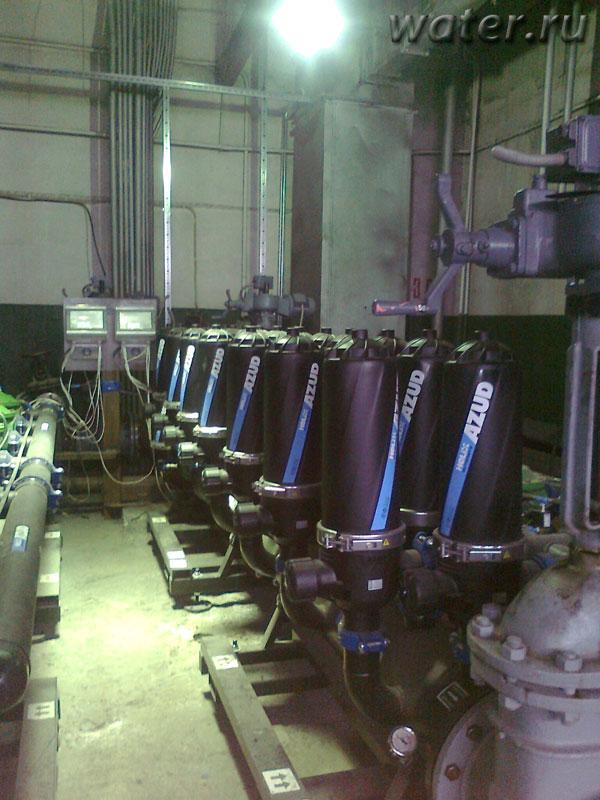 Дисковый фильтр с автоматической промывкой Azud 407