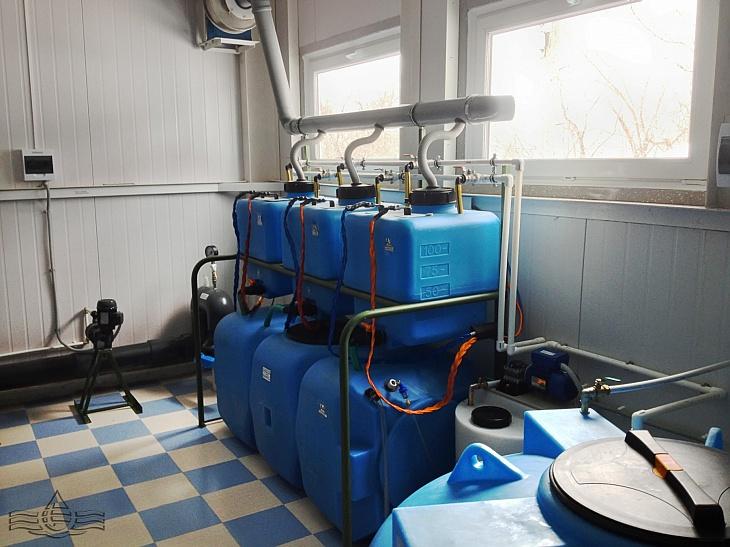 автоматическая станция приготовления и дозирования гипохлорита натрия.