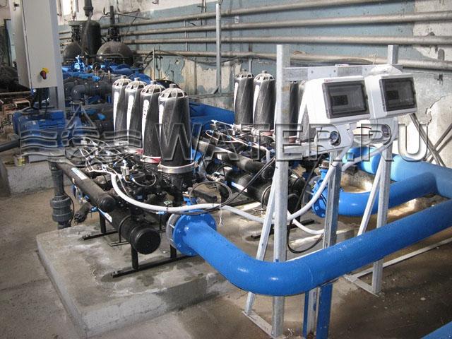 автоматические самопромывные фильтры azud helix
