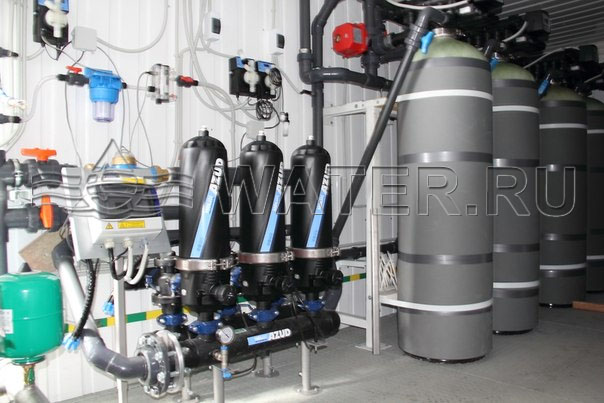 azud 203/4 fx в комплексной блочно модульной системе водоподготовки