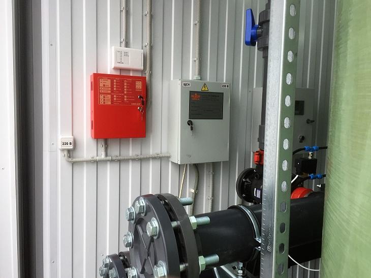 система пожаротушения и сигнализации. контролер управления системой водоподготовки siemens