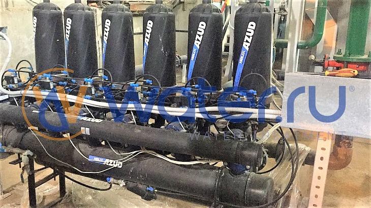 фильтр azud 206hf/6fx sw lp. исполнение для соленой воды sw,с промывкой из внешнего источника lp
