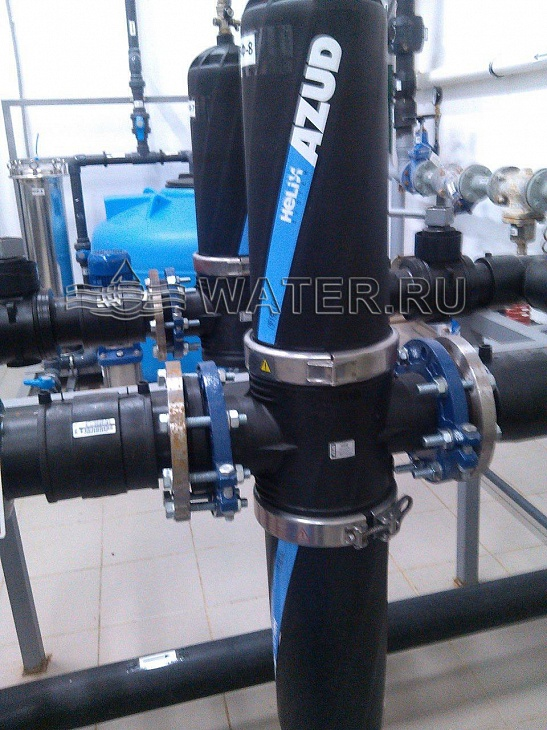механический фильтр производительностью 100 м3/ч