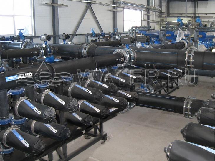 станция водоподготовки для снабжения города с населением в 15 000 человек.