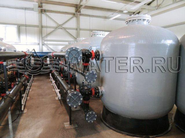 вторая ступень реконструкции фильтровально-насосной станции производительностью 500м3/ч.