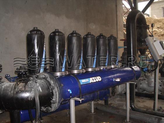 Станция механической очистки водыAZUD HELIX AUTOMATIC H 306/8FE