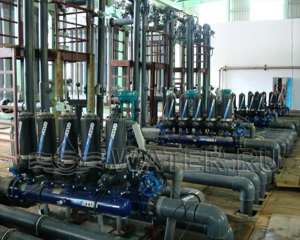фильтры азуд для промышленной водоподготовки