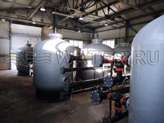 этот модуль необходим для защиты проектируемой системы ультрафильтрации на период паводков.