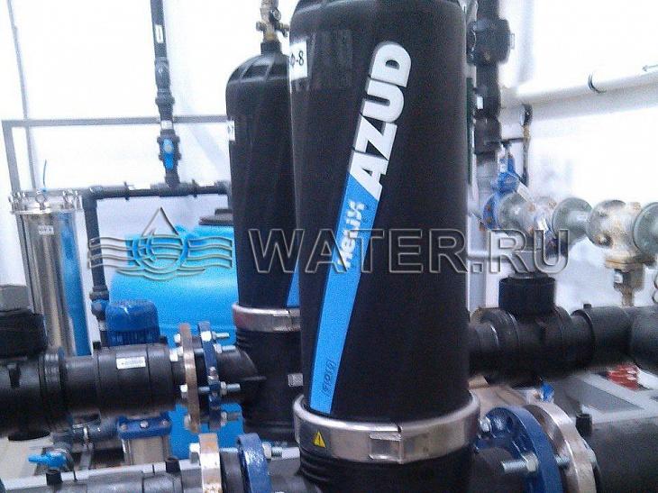 фильтр azud df 4 sb. производительность 100 м3/ч