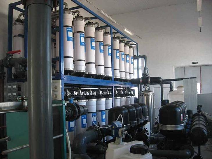 система ультрафильтрации производительностью 160 м3/ч для муниципального водоснабжения