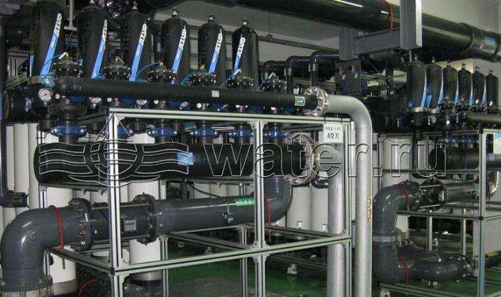 автоматический дисковый фильтр azud